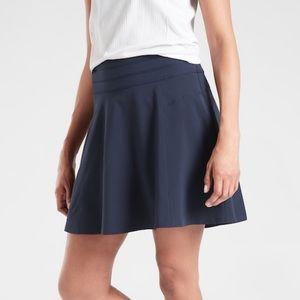 Athleta All Day Skort Navy Blue Skort Skirt Short